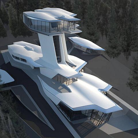 A Large Universali House