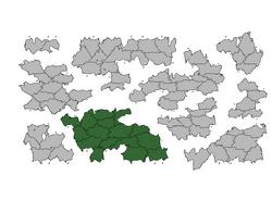 Location Antilia Major (Kebir Blue)