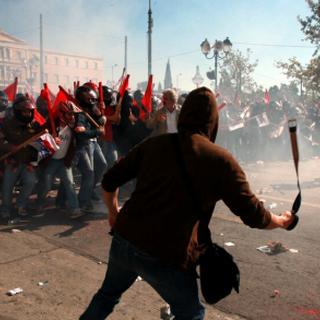 Communist riots in Nabatto