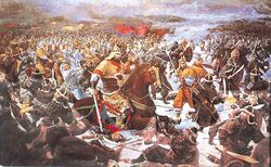 Ancient chinese battle