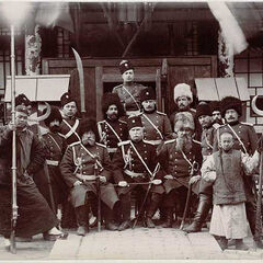 Yugotarian Soldiers in winter attire