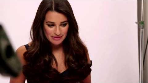 Behind the Scenes of Lea Michele's L'Oreal Commercial