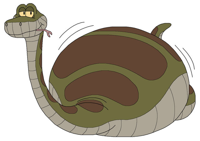 File:Kaa the python eat all animals by mcsaurus-d5opepe.jpg