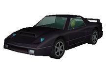 Black Ferrari Model