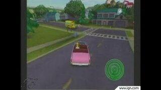 The Simpsons Hit & Run GameCube Gameplay