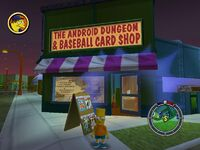 Simpsons hit and run Level 6