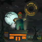 Lard Lad Donut-Haunted