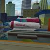 Monorail Car - Above