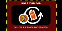 Dial B for Blood