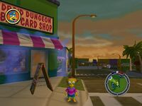 Simpsons hit and run Level 3