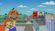 Politically Inept, with Homer Simpson Billboard gag 1