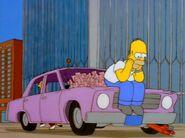 Homer waiting at WTC