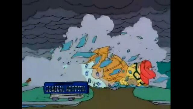 File:The Mascots Fall And Destroy The Springfield General Hospital.jpg