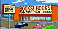 Books! Books! and Additional Books!
