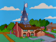 The Simpsons Residence with an Omnitouch antenna