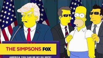 THE SIMPSONS Trumptastic Voyage ANIMATION on FOX
