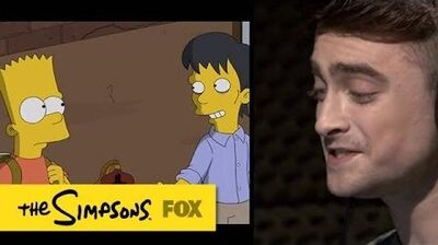 Guest Voice Daniel Radcliffe THE SIMPSONS ANIMATION on FOX