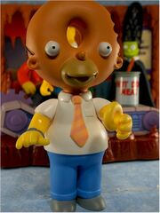 Doughnut Head Homer