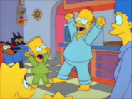Homer and bart horray