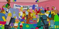 500th Episode Celebration couch gag