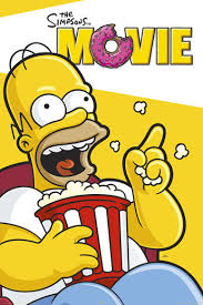 File:The Simpsons Movie Homer laughing in the Theater Poster.jpg
