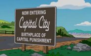Capitol City Sign
