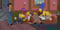 Victorian Whodunnit couch gag