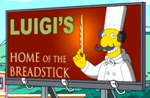 Luigi's Home of the Breadstick