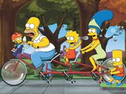 Simpsons TandomBike 1600