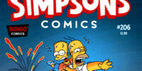 Simpsons Comics 206