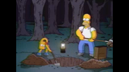 HomerBartDigging