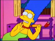 Marge singing again
