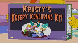 Krusty's Kreepy Konjuring Kit