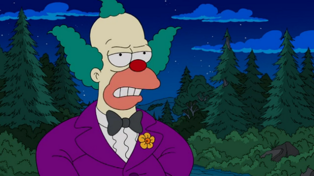 File:Krusty the Clown young in Four Regrettings and a Funeral.png