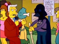 Darth Vader in Springfield