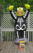 HUGE Gemmy Airblown Halloween Inflatable Homer Simpson