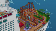 Royalty Valhalla rollercoaster and ferris wheel