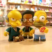 Kidrobot Apu, Homer and Mr.Burns