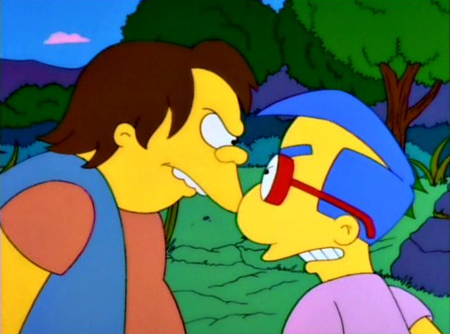File:Milhouse and Nelson Rivalry.PNG