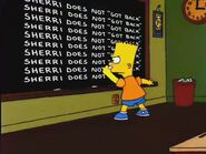 Wild Barts Can't Be Broken Chalkboard Gag