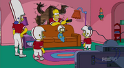 Gal of Constant Sorrow Couch Gag