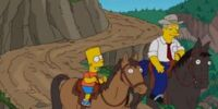 Bart Stops to Smell the Roosevelts
