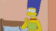 Marge realize Lisa not wearing her pearls