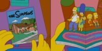 Pop-Up Book couch gag