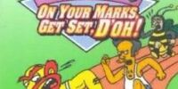 The Simpsons: On Your Marks, Get Set, D'oh!