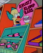 Krusty klump bar sign