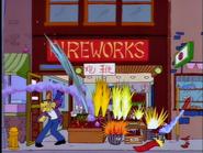 Firework simpsons