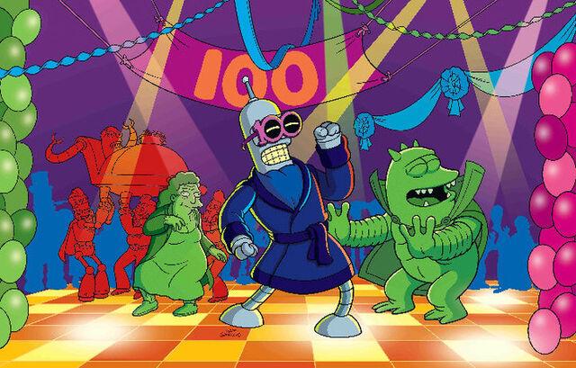 File:Futurama's 100th episode promtional picture.jpg