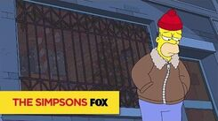 """Christmas Eve Blues from """"I Won't Be Home For Christmas"""" THE SIMPSONS ANIMATION on FOX"""