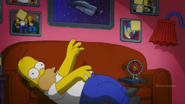 Clown in the Dumps couch gag 5